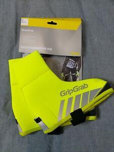GribGrab Racethermo Hi-Vis Waterproof Windproof Overshoes M 40/41 Model2023