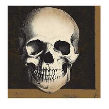 16 x Halloween Boneyard Napkins Skull Bones Halloween Party Napkins Tableware
