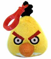 Angry Birds Plush Backpack Clip - Yellow Bird, New, Commonwealth Toy & Novelty