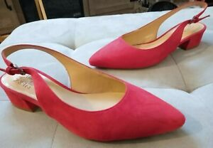 NEW Naturalizer red hot sling back shoes size 8