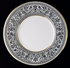 "(4) WEDGWOOD Florentine Bread & Butter Plates, 6 1/8"", W4312 Black Dragons"