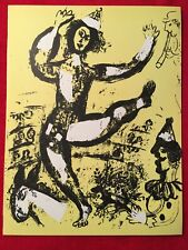 Marc Chagall, The Circus, Original Lithograph,1960 Mourlot