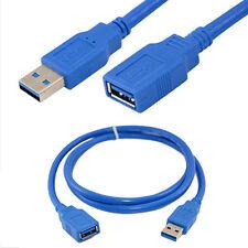 Cn _ USB 3.0 A Mâle à Prise Femelle 1m/3.2ft Super Rapide Câble Rallonge Cordon