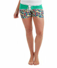 Hot Pants Floral Low Rise Shorts for Women