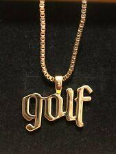GOLF WANG YE OLDE GOLD NECKLACE