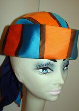 1960s Vintage EMME for Yves St. Laurent Scarf Hat Chapeau