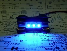 7 Cool Blue LED Fuse Lamps Custom made for PIONEER TX-9100 Tuner Meters Dial TX