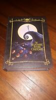 Disney Nightmare Before Christmas Jack Skellington Decoration Book Box NEW