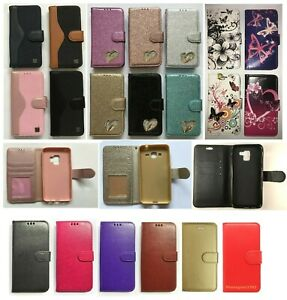 Various Pattern Flip Magnetic PU Leather Stand Case For Various Samsung Galaxy