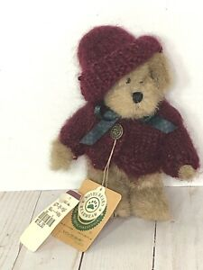 Boyds Bears KAYLA MULBEARY Plush Sweater Hat Archive Collection Bearwear Retired