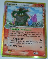 Holo Foil Ludicolo 6/100 Gold Lettering EX Crystal Guardians Pokemon Cards HP