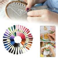 LOT 50 DMC Colors Cross Stitch Cotton Embroidery Thread BEST Floss Skein R9E0