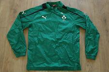 IRFU Ireland Union Rugby Training Jacket Rain Wind Jersey Shirt PUMA Size M