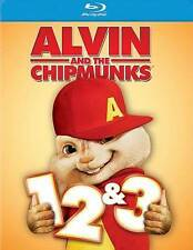 Alvin and the Chipmunks 1, 2  3 (Blu-ray Disc, 3-Disc Set)