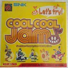 NOUVEAU scellé COOL COOL JAM JAPONAIS IMPORT pour NEO GEO poche couleur F20