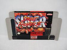 BOX ONLY | Super Street Fighter II 2 | for Super Nintendo SNES