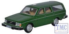 76VE001 Oxford Diecast 1:76 Scale OO Gauge Volvo 245 Estate Green
