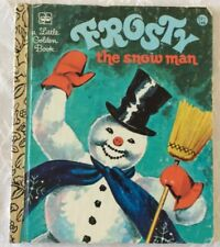 Vtg Childrens' Book, Frosty The Snowman, A Little Golden Book, 1978