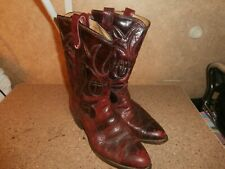 WOMEN'S WESTERN STYLE COWBOY BOOTS -SIZE 8D