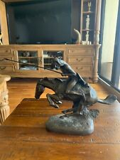 """Frederic Remington """"The Cheyenne"""" Reproduction Statue Limited Edition 9500"""