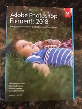 Adobe photoshop elements 2018 NEW CD in a retail box