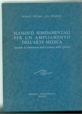 STEINER WEGMAN ELEMENTI FONDAMENTALI AMPLIAMENTO ARTE MEDICA ANTROPOSOFICA 1977