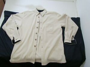 Dickie Walker Authentic marine mens medium pullover button up polyester