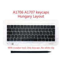 "Hungary HU Keyboard keys keycaps For Macbook Pro Retina 13"" A1706 15"" A1707 2016"