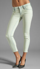 NEW J Brand Allegra Skinny Cropped Jean in Nirvana Mint - Size 28