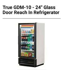 1 Glass Door Cooler True Gdm 10