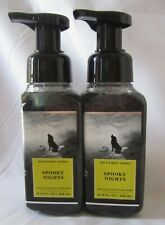 Lot of 2  Bath & Body Works Gently Foaming   SPOOKY NIGHTS