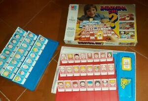 indovina chi? gioco da tavolo 1°edizione 1980 MB giochi