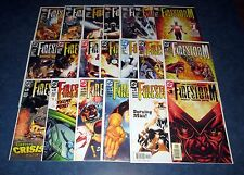 FIRESTORM #1-22 complete 1st print set (22) DC COMICS 2004 IDENTITY CRISIS FLASH