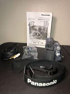 Panasonic PV-GS9 Camcorder — Mini DV — Tested w/ Battery, Strap, Cords, Lens Cap