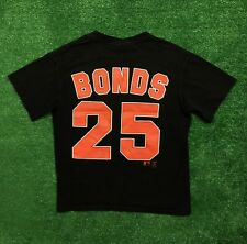 VTG San Francisco Giants Barry Bonds Jersey T Shirt Lee Sport Youth Size L Large