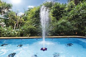 fontana a fiore per piscina piscine funzionamento con pompa filtraggio K737CBX