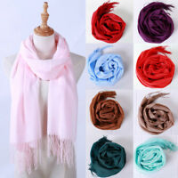 Fashion Ladies Women Winter Tassel Long Warm Shawl Wraps Scarf Scarves Pashmina