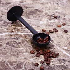 2 IN 1 Coffee Espresso Scoop 10g Plastic Measuring Spoon Tamper Length 150m Sq