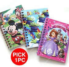 Disney Toy Story Aliens Mickey & friends sofia the first Small Notebook pick 1pc