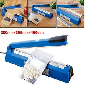 Impulse Heat Sealer Plastic Bag Film Sealing Machine Metal ABS 200mm 300mm 400mm