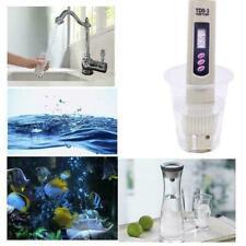 Salt Water Pool Fish Pond Test Digital Salinity Temp Portable Meter Pen H4S6