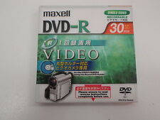 MAXELL DRH30.1P 275875 30MINS SINGLE SIDED 1.4GB DVD-R NEW