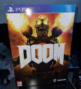 Doom 2016 PS4 Collectors Edition Revenant Statue. No Steelbook or Game