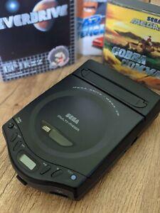 Sega Multi Mega Console - Everdrive Cart, 3 CD Games and 2 Controllers - *Rare*