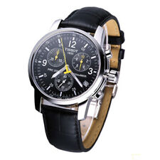 Tissot PRC200 Chronograph T17.1.526.52 Black Dial Men's Watch New Warranty