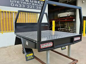 NEW DUAL CAB STEEL TRAY TWIN CAB STEEL UTE TRAY HILUX RANGER DMAX BT50 NP300...