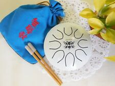 WuYou Hand-tune 5in Steel tongue Drum Handpan Chakra Drum, Free bag and mallets