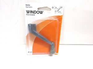NOS! SLIDE-CO WINDOW HANDLE, GRAY, #171786