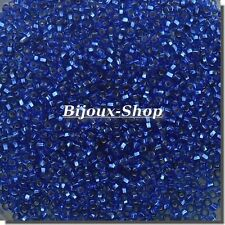 1kg Perlen aus rocaille Tschechisch Saphir Gefüttert Marke Ornella