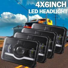 "4Pcs 4x6"" In LED Headlights 120W Hi-Lo for GMC Chevrolet Kenworth T400 T600 T800"